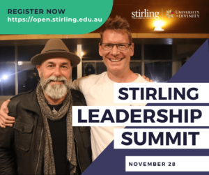 Promo Flyer Stirling College Leadership Summit